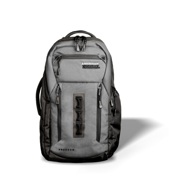 LG Freedom Concealed Carry Backpack - Gray/Black