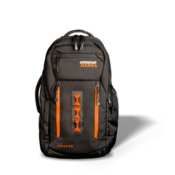 LG Freedom Concealed Carry Backpack - Black/Orange