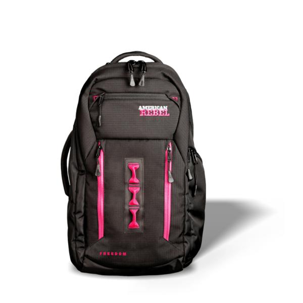 LG Freedom Concealed Carry Backpack - Black/Pink