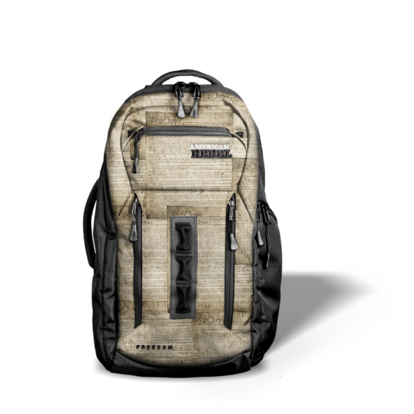 LG Freedom Concealed Carry Backpack - We The People/Black