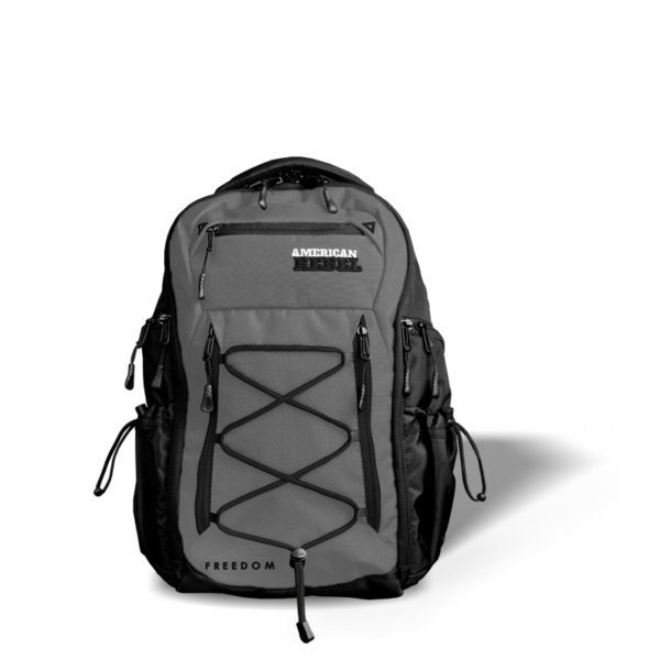 MD Freedom Concealed Carry Backpack - Gray/Black