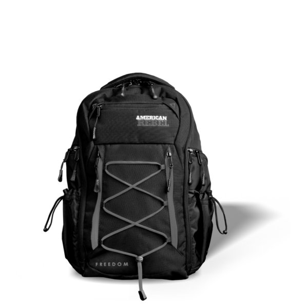 MD Freedom Concealed Carry Backpack - Black/Gray