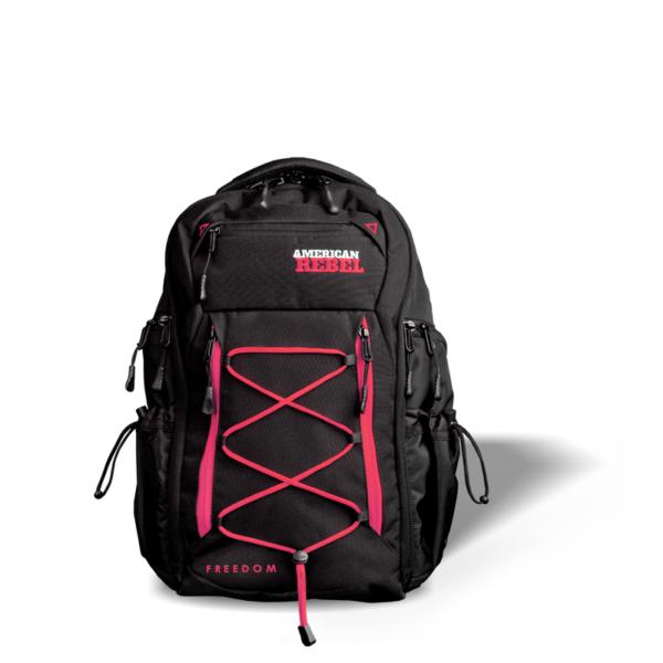 MD Freedom Concealed Carry Backpack - Black/Pink