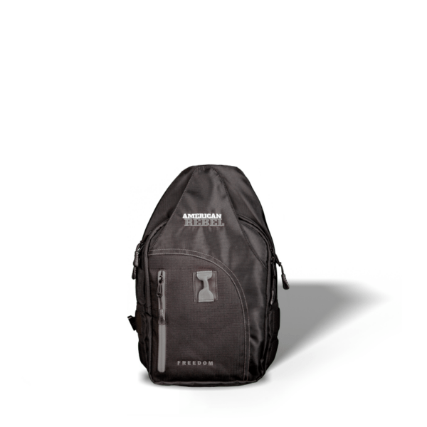 SM Freedom Concealed Carry Backpack - Black/Gray