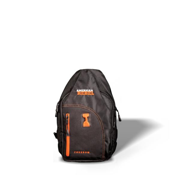 SM Freedom Concealed Carry Backpack - Black/Orange