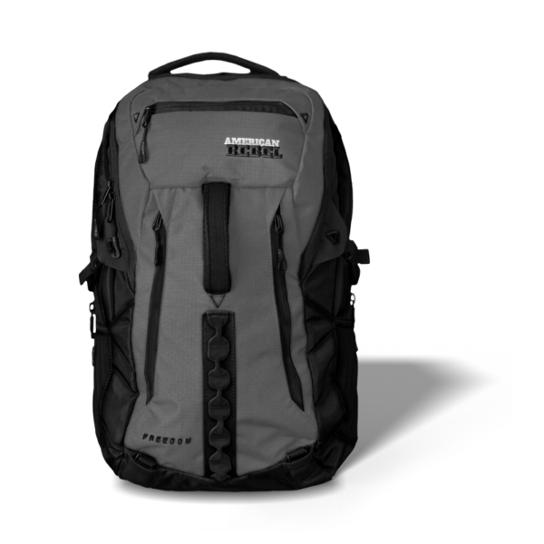 XL Freedom Concealed Carry Backpack - Gray/Black