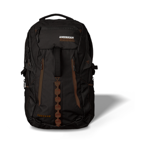 XL Freedom Concealed Carry Backpack - Black/Brown