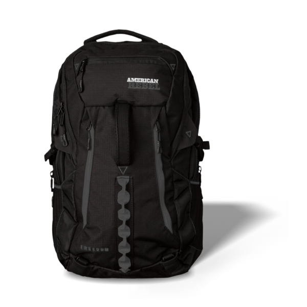 XL Freedom Concealed Carry Backpack - Black/Gray