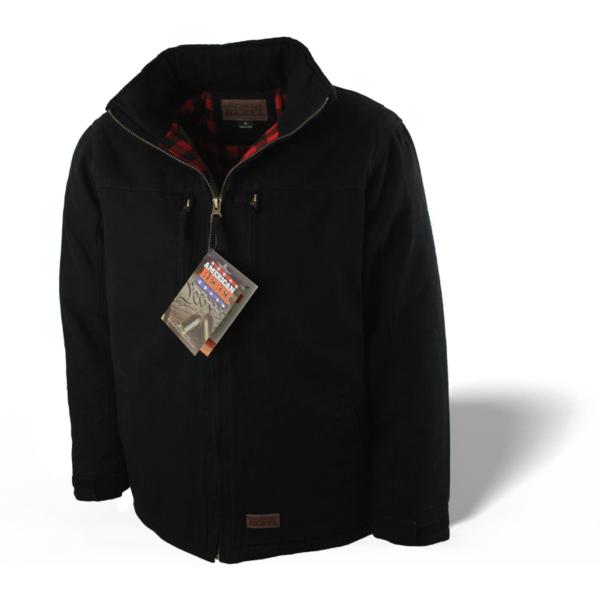Men's Cartwright Concealed Carry Coat - Blk-Blk