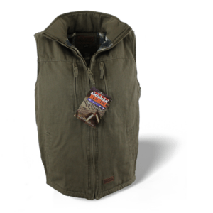 Men's Cartwright Concealed Carry Hoodless Vest - Olive Green