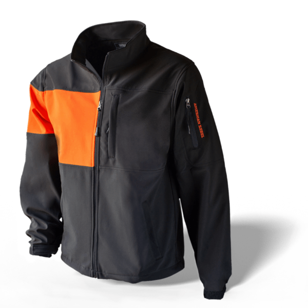 Mens Freedom Concealed Carry Jacket - Black/Orange