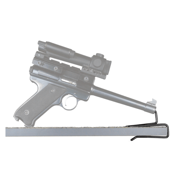 Back-Over Handgun Hangers